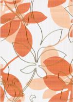 Керамическая плитка Березакерамика (Belani) Декор Ретро оранжевый