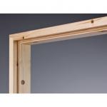Двери Межкомнатные Коробка JW 601 прозрачный лак с уплотнителем Финляндия