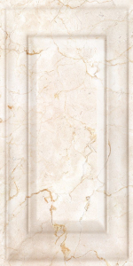 Керамическая плитка Belleza Декоративный объемный массив Монкада коричневый