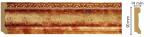 Плинтус Decomaster Цветной напольный плинтус Decomaster 166-126