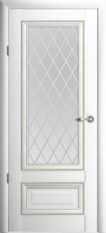 Двери Межкомнатные Версаль-1 белый мателюкс ромб