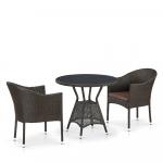 Мебель Садовая мебель Набор 2+1 T707ANS/Y350-W53 2 Pcs Brown