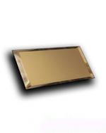Керамическая плитка ДСТ Плитка зеркальная прямоугольная ПЗБм1-01