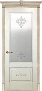 Двери Межкомнатные Дверное полотно остекленное Муар