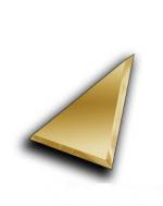 Керамическая плитка ДСТ Плитка зеркальная треугольная ТЗС1-01