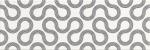 Керамическая плитка Mei Плитка настенная white-black geo O-SPI-WTU441