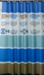 Товары для дома Аксессуары для ванной Шторка для ванной Fishes PV180180003