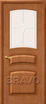 Двери Межкомнатные М16 Т-05 (Светлый Лак) ПО СТ-Полимер