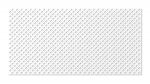Стеновые панели Перфорированные Готико белый v546926