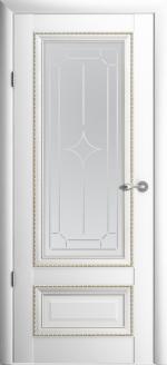 Двери Межкомнатные Версаль-1 белый мателюкс галерея
