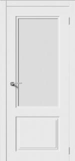 Двери Межкомнатные Дверное полотно остекленное Квадро-2