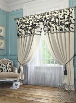 Товары для дома Домашний текстиль Блуа (бело-черный) 950033