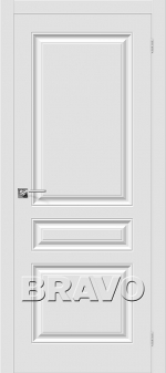 Двери Межкомнатные Скинни-14 П-23 (Белый)