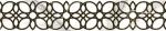 Керамическая плитка Шахтинская плитка (Unitile) Фиеста белая бордюр 01