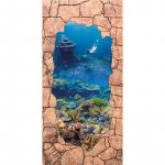 Стеновые панели МДФ Кораллы коричневый камень