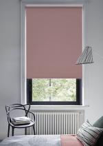 Товары для дома Домашний текстиль Светонепроницаемые миниролло Эскар blackout Розовый кварц