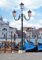 Керамическая плитка Березакерамика (Belani) Декор Азалия Венеция 1 синий