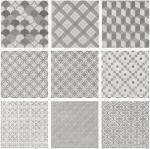 Керамическая плитка Kerama Marazzi Плитка напольная Карнаби-стрит орнамент серый 1576T N