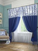 Товары для дома Домашний текстиль Агно (синий) 950030
