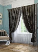 Товары для дома Домашний текстиль Бовье (черный) 950014