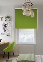 Товары для дома Домашний текстиль Светонепроницаемые миниролло Эскар blackout оливковые