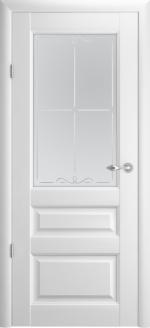 Двери Межкомнатные Эрмитаж-2 белый мателюкс галерея