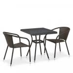Мебель Садовая мебель Набор 2+1 T282BNT/Y137C-W53 Brown 2Pcs