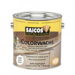 Паркетная химия Saicos Декоративный воск непрозрачный белый Colorwachs deckend 4009