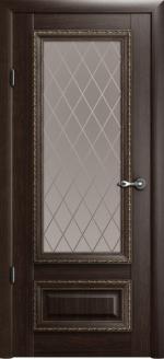 Двери Межкомнатные Версаль-1 орех мателюкс ромб