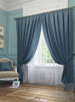 Товары для дома Домашний текстиль Элисс (синий) 950126