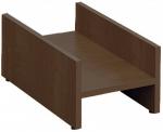 Мебель Витра Тумба под системный блок Альфа 62.24 орех Пегас