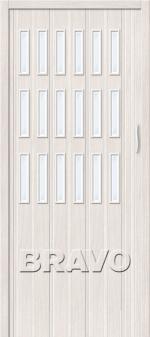 Двери Межкомнатные Раздвижная дверь Браво-018 Белый Дуб