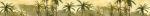 Керамическая плитка Березакерамика (Belani) Бордюр Алушта кремовый