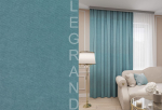 Товары для дома Домашний текстиль Канвас 150х260 бирюзовая