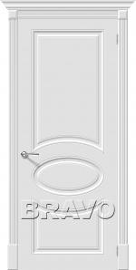 Двери Межкомнатные Скинни-20 Whitey