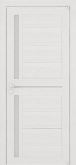 Двери Межкомнатные Дверное полотно Light ПДО 2121 Велюр капучино