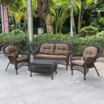 Мебель Садовая мебель Набор мебели с диваном LV520BB Brown/Beige