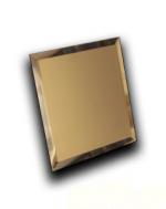 Керамическая плитка ДСТ Плитка зеркальная квадратная КЗБм1-02