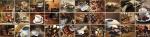 Стеновые панели Кухонные фартуки Кухонный фартук Кофейный микс
