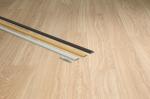 Подложка, порожки и все сопутствующие для пола Порожки Порог Quick Step металлический золотой