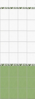 Стеновые панели ПВХ Белые тюльпаны 05-007-1 фон