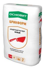 Строительные товары Строительные смеси Кладочные растворы БРИКФОРМ Т-111 белый