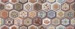 Керамическая плитка Azori Настенная плитка Navarra Mocca Arabesco
