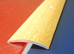 Подложка, порожки и все сопутствующие для пола Порожки Одноуровневый алюминиевый порожек А2