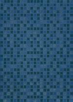 Керамическая плитка Березакерамика (Belani) Плитка Квадро облицовочная синяя
