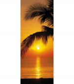 Обои Komar 2-1255 Palmy Beach Sunrise