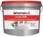 Паркетная химия Homakoll Универсальный клей для линолеума Хомакол 208