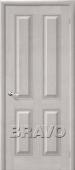 Двери Межкомнатные М15 Т-07 (Белый Воск) ПГ