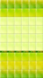 Стеновые панели ПВХ Северное Сияние Желто-зеленое Фон
