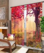 Товары для дома Домашний текстиль Красочное дерево 900311